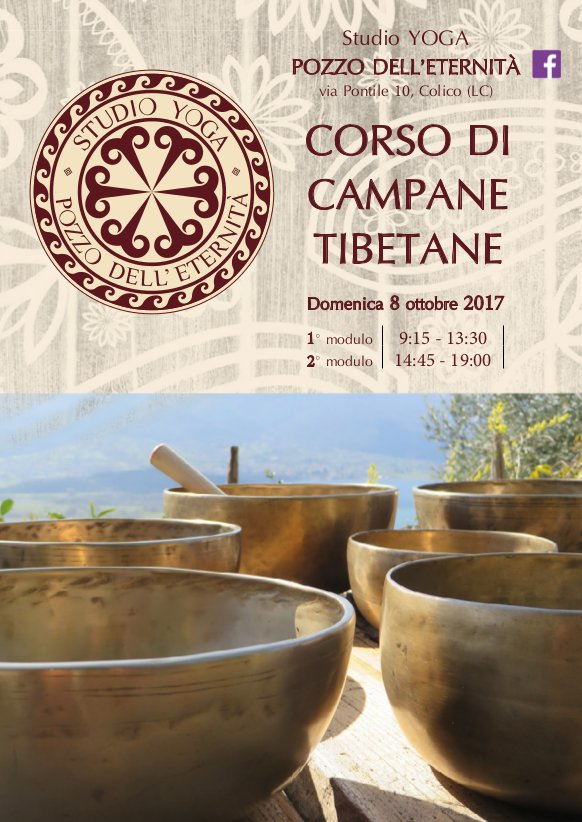 volantino corso campane tibetane Colico 1